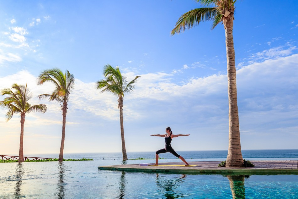 Beachfront fitness, glow yoga, sound therapy, yoganidra, plant-based nutrition, skin care workshops & more on tap at Grand Velas Los Cabos annual Wellnessing Getaway from February 19 – 21, 2020.