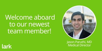 Our leadership team continues to grow and we're excited to welcome our next addition: Jason Paruthi, MD, as Medical Director.
