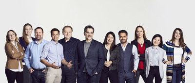 Seth Dobrin, CDO IBM Cloud and Cognitive Software (center), and members of the Data Science Elite Team.