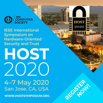 Registration is Open Now for HOST 2020, IEEE International Symposium on Hardware Oriented Security and Trust
