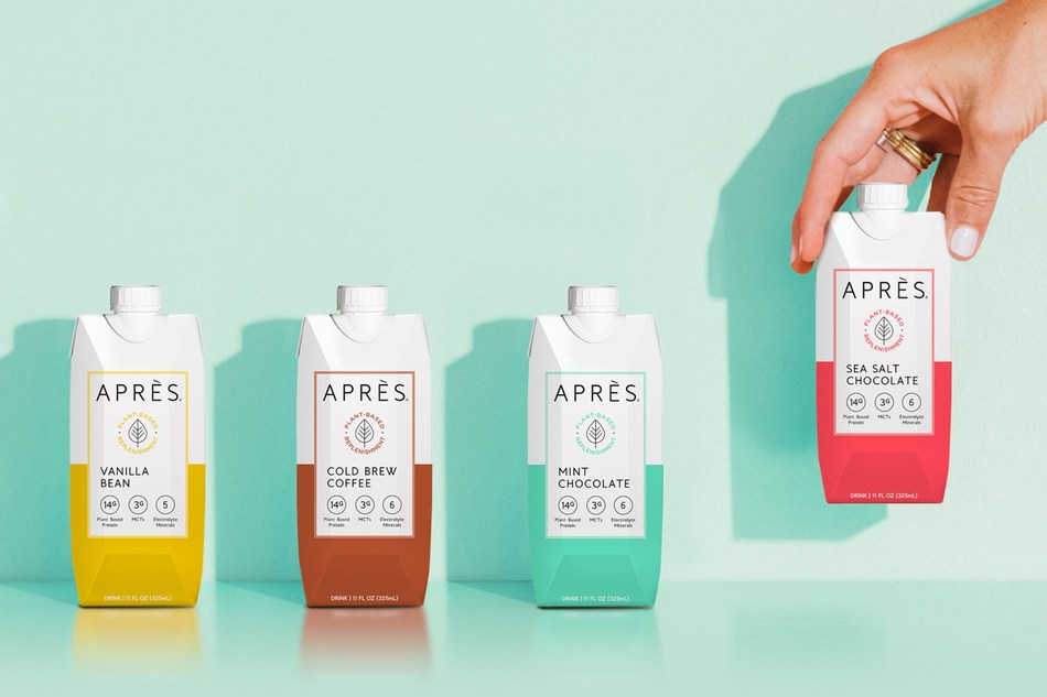 Après announces a brand refresh with updated packaging and evolved formulation to reach an expanding customer base and support growth across new channels, including traditional brick-and-mortar retail.