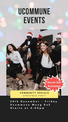 Ucommune Celebrates the Spirit of Giving This Christmas Across Its Locations.