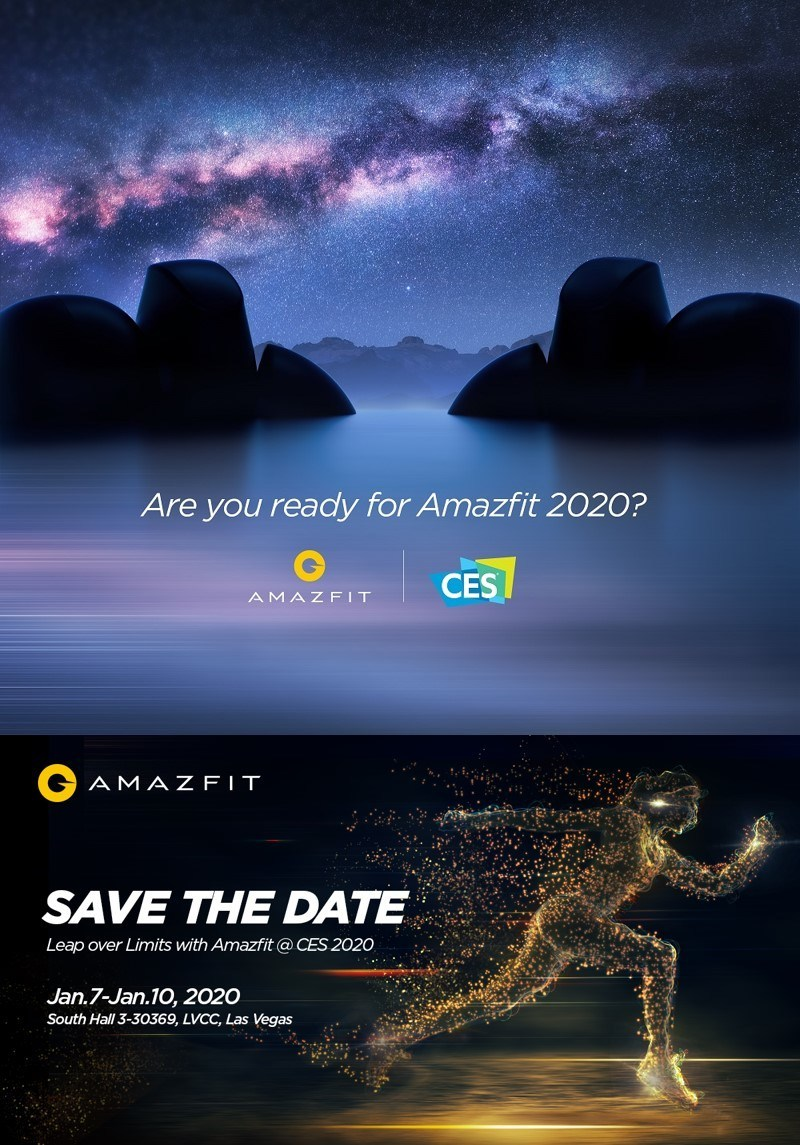 What are the new Amazfits to be unveiled? Amazfit Product Launch Event will be hold at Wynn hotel, Las Vegas, Jan 7