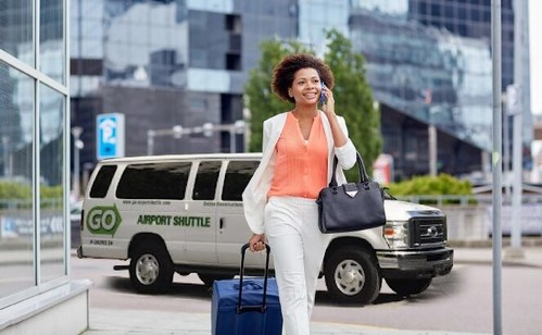 GO Airport Shuttle serves more than 85 airports