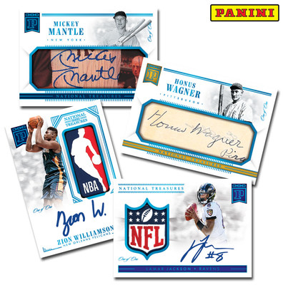 Panini America Becomes First to Launch Officially Licensed Trading Cards Featuring Blockchain Technology