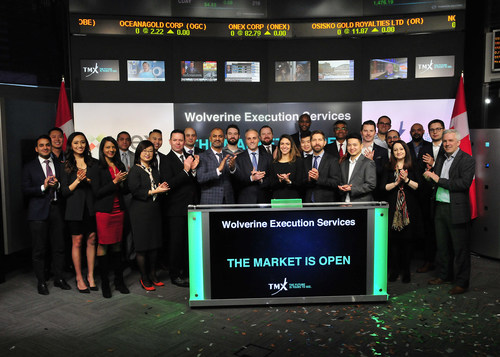 Wolverine Execution Services Opens the Market (CNW Group/TMX Group Limited)