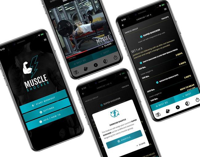 Muscle Shocker App is Bodybuildings Next Best App