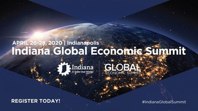 State of Indiana to Host International Business Conference in April 2020