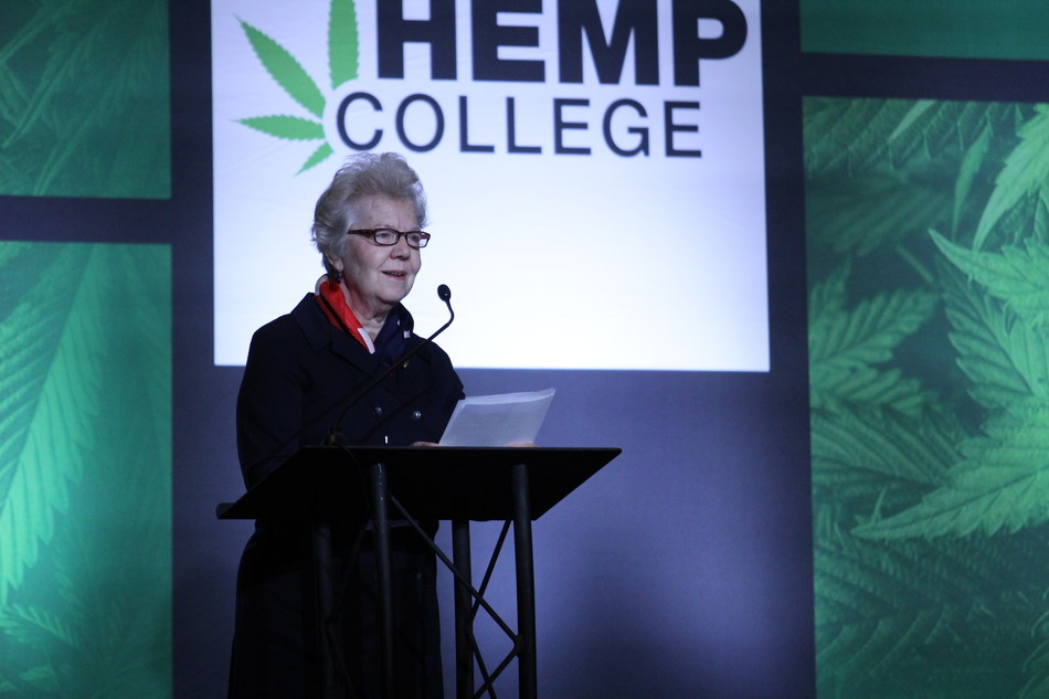 Caren Wilcox, executive director of the U.S. Hemp Growers Association, announced the formation of the organization to a crowd of hemp growers attending Hemp College in Indianapolis, Ind. The organization will unite hemp farmers and provide them with educational resources, networking opportunities and a unified voice for the hemp industry.