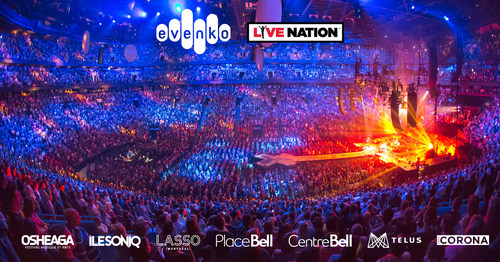 evenko and Live Nation Entertainment Announce Partnership
