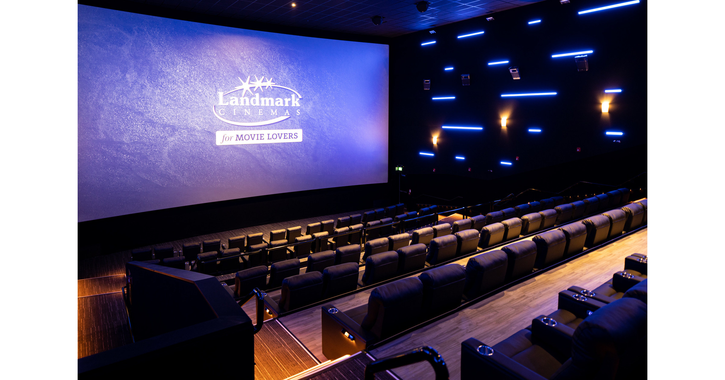 Now Open Landmark Cinemas At Cf Market Mall Featuring Luxury Recliner Seating And Laser Projection