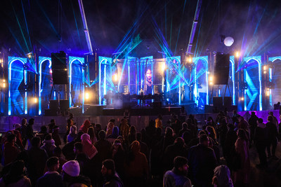 MDL Beast Festival - The Saudi Soundstorm has arrived, wowing over 130,000 fans on its first day (PRNewsfoto/MDL Beast Festival)