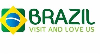 Brazil Visit and Love Us Logo