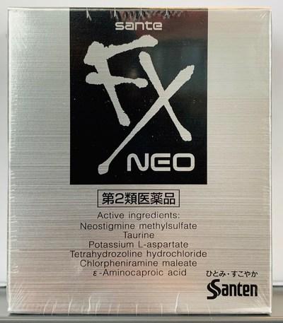 Santen Sante FX Neo (CNW Group/Health Canada)