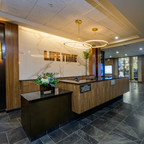 Picture of the front desk at Life Time La Jolla