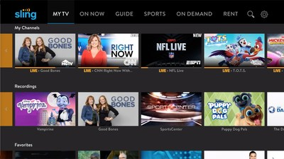 "Sling TV's new ""Cloud DVR Free"" gives 10 hours of Cloud DVR storage to all customers not already subscribed to the Cloud DVR add-on."