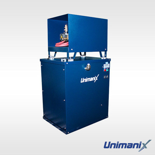 New Unimanix all electrical hot washer pressure series ARH-4040EE3ACS-48. ARH (AR Pump) Industrial Series - Hot Water Pressure Washers - Electrical water heater - Industrial Application Electric Motor - 4000 PSI - 4 GPM