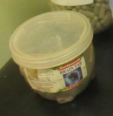 Brain Tab tablets (in a jar) (CNW Group/Health Canada)