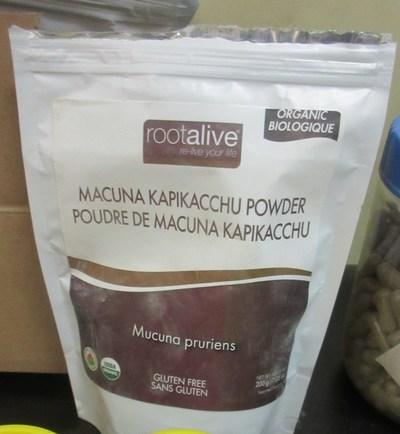 Mucuna powder (CNW Group/Health Canada)