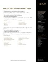 New Era Cap Fact Sheet