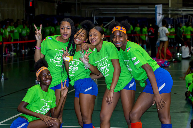 Junior Olympic champions and novice newcomers share the spotlight at the nation's largest track and field series, the Colgate Women's Games this weekend at Pratt Institute in Brooklyn.