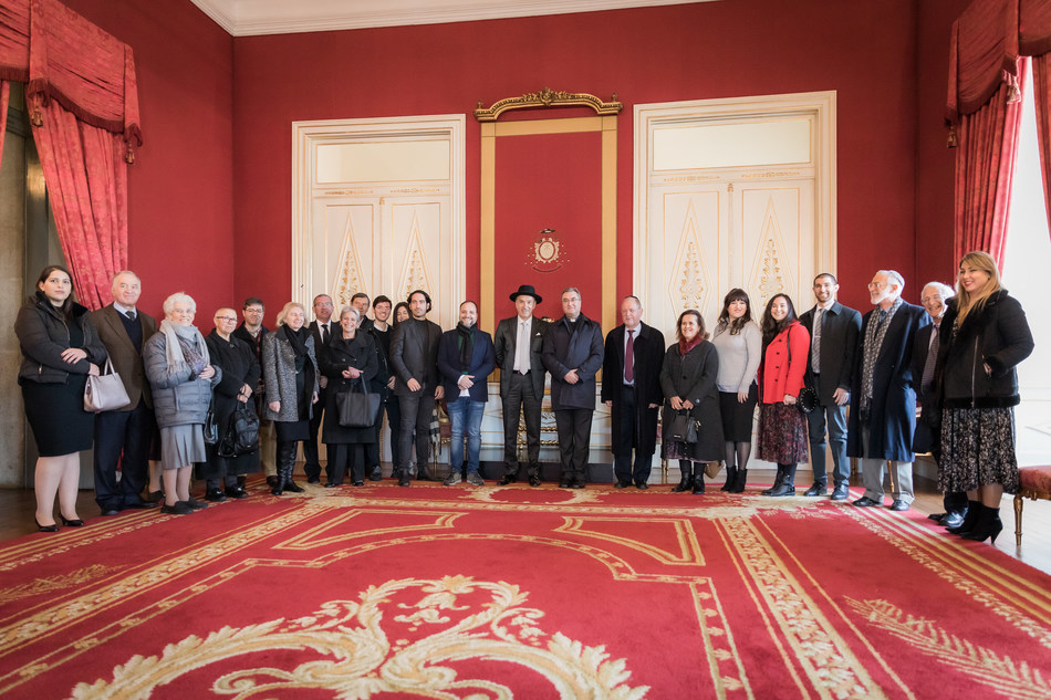 The Oporto Episcopal Palace Museum received a delegation from the local Jewish community last week