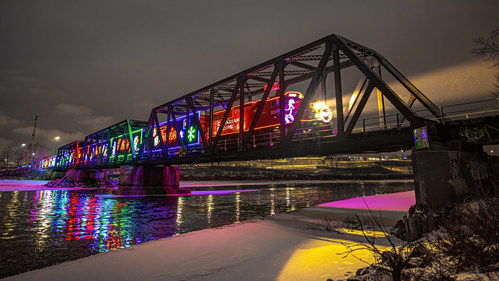 Photo courtesy of Neil Zeller Photography. (CNW Group/Canadian Pacific Holiday Train)