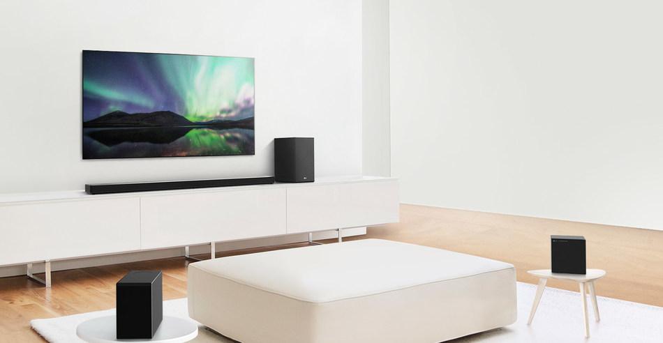 LG Soundbar Lineup (Groupe CNW/LG Electronics Canada)