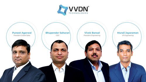 VVDN Leadership Team (PRNewsfoto/VVDN Technologies)