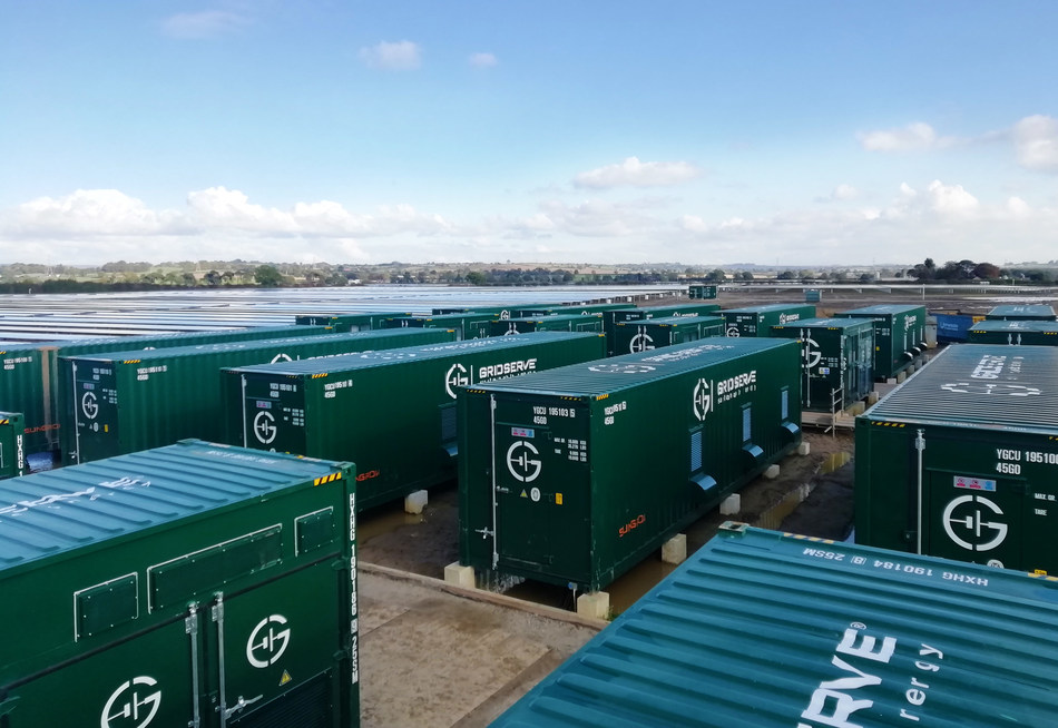 Sungrow connects power to the UK grid from a 27.5MW/30MWh solar-plus-storage project