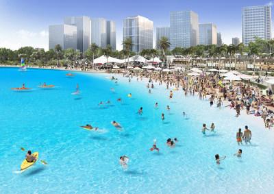 Crystal Lagoons和NexPlan一起在韩国开发30个向公众开放的人工湖