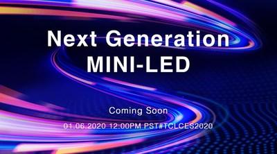 Tecnologia Mini LED de última geração