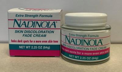 Nadinola Extra Strength Formula Skin Discolouration Fade Cream (outer carton) (CNW Group/Health Canada)