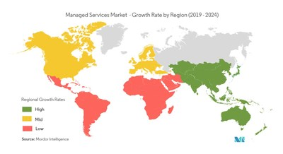 Managed Services Market Geographical Overview