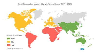 Facial Recognition Market Geographical Overview