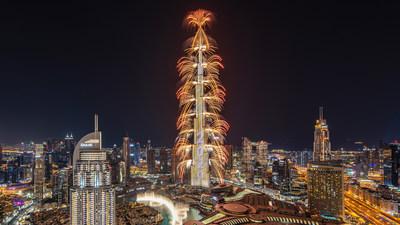 伊玛尔在Downtown Dubai举办壮观跨年秀