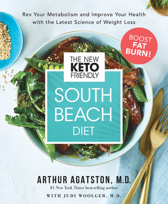 The New Keto-Friendly South Beach Diet book is available today nationwide in bookstores, online, and on Amazon.