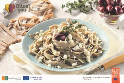 Olives An Integral Part Of Mediterranean Diet- Olive Tagliatelle Recipe By The Olive You Campaign
