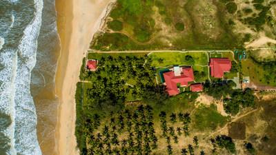 Aerial View of Niraaamaya Private Residences, Goa
