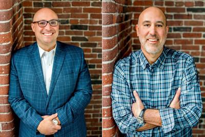 Gregg Stein, POW Audio CEO (left) and Glen Walter, POW Audio Executive Chairman and CVO (right).