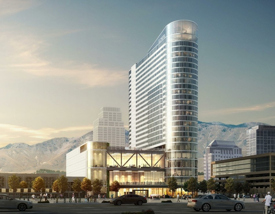 Salt Lake City's New Hyatt Regency Hotel at the Salt Palace Convention Center Secures $54 Million in CleanFund C-PACE Financing to Break Ground Immediately