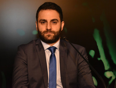 Ziad Tawk, CTO & Co-founder of Eurisko Mobility during the Smart Forest Conference (PRNewsfoto/Eurisko Mobility)