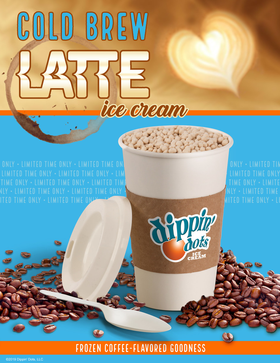 Dippin' Dots Launches First In-Store-Only Flavor, Cold Brew Latte