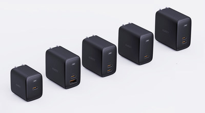 The AUKEY Omnia Series is a new line of gallium nitride (GaN) chargers that deliver some of the world's fastest charging speeds and will feature five power delivery (PD) chargers.