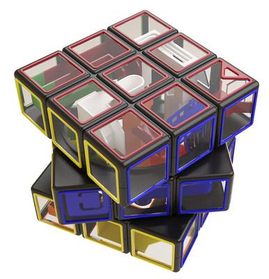Rubik's Cube faz parceria de marca com quebra-cabeças Perplexus (CNW Group/Spin Master)