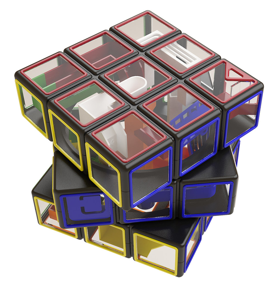 Rubik's Cube co-brands with Perpelexus Puzzles