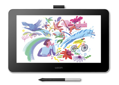 Wacom One opens up a world of new possibilities for creatives. Draw, paint and annotate directly on screen with Wacom's renowned pressure-sensitive pen technology. Users will delight in the ability to use Wacom One with MacOS, Windows or Android.