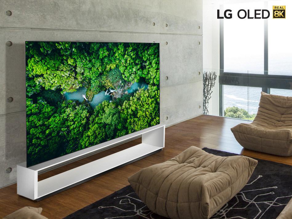 Gamme de téléviseurs 8K réel de LG (Groupe CNW/LG Electronics Canada)