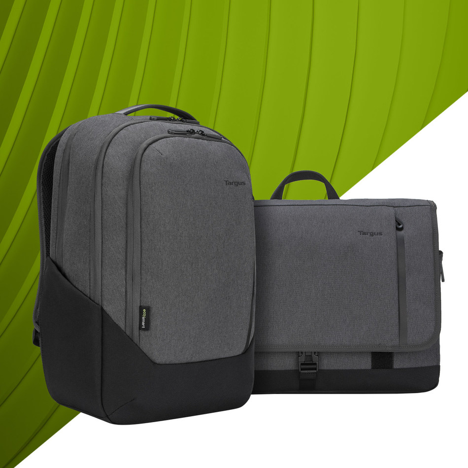 Targus aims to reduce the number of plastic bottles destined for landfills, launching new line of eco-conscious laptop cases.