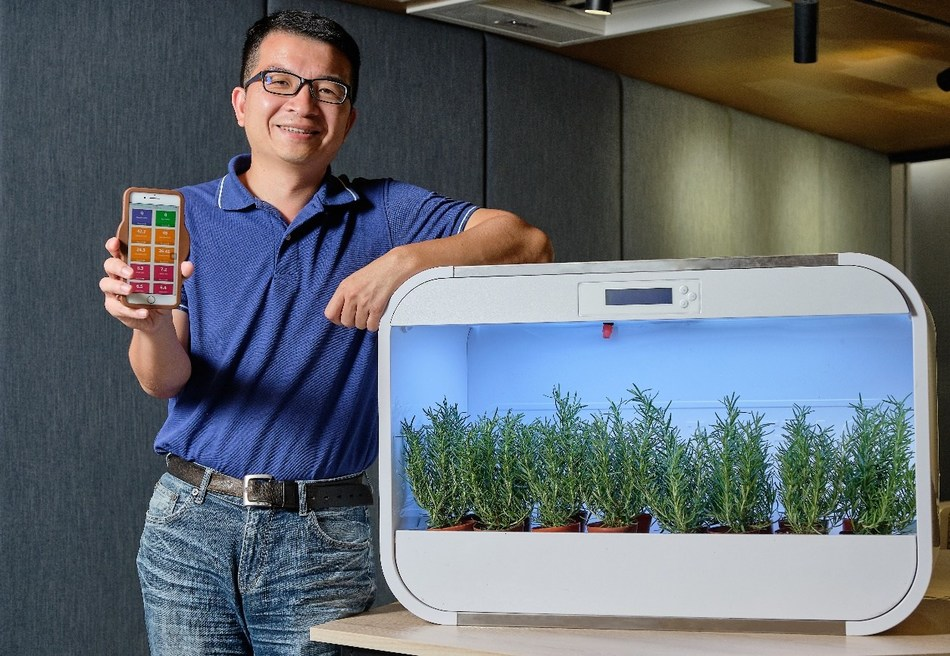 "Dr. Wen Liang Chen, an associate professor at NCTU College of Biological Science and Technology, together with his students, founded AgriTalk Tech Inc. It integrates biotechnology, IoT, big data analysis, and artificial intelligence to develop the non-toxic agricultural disease and fertilizer regulation system called the ""AgriTalk Management Platform."""